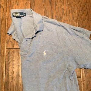 Men's large Ralph Lauren polo shirt blue